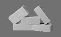 Белый куряжский силикатный кирпич