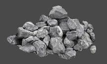 Серый бутовый камень